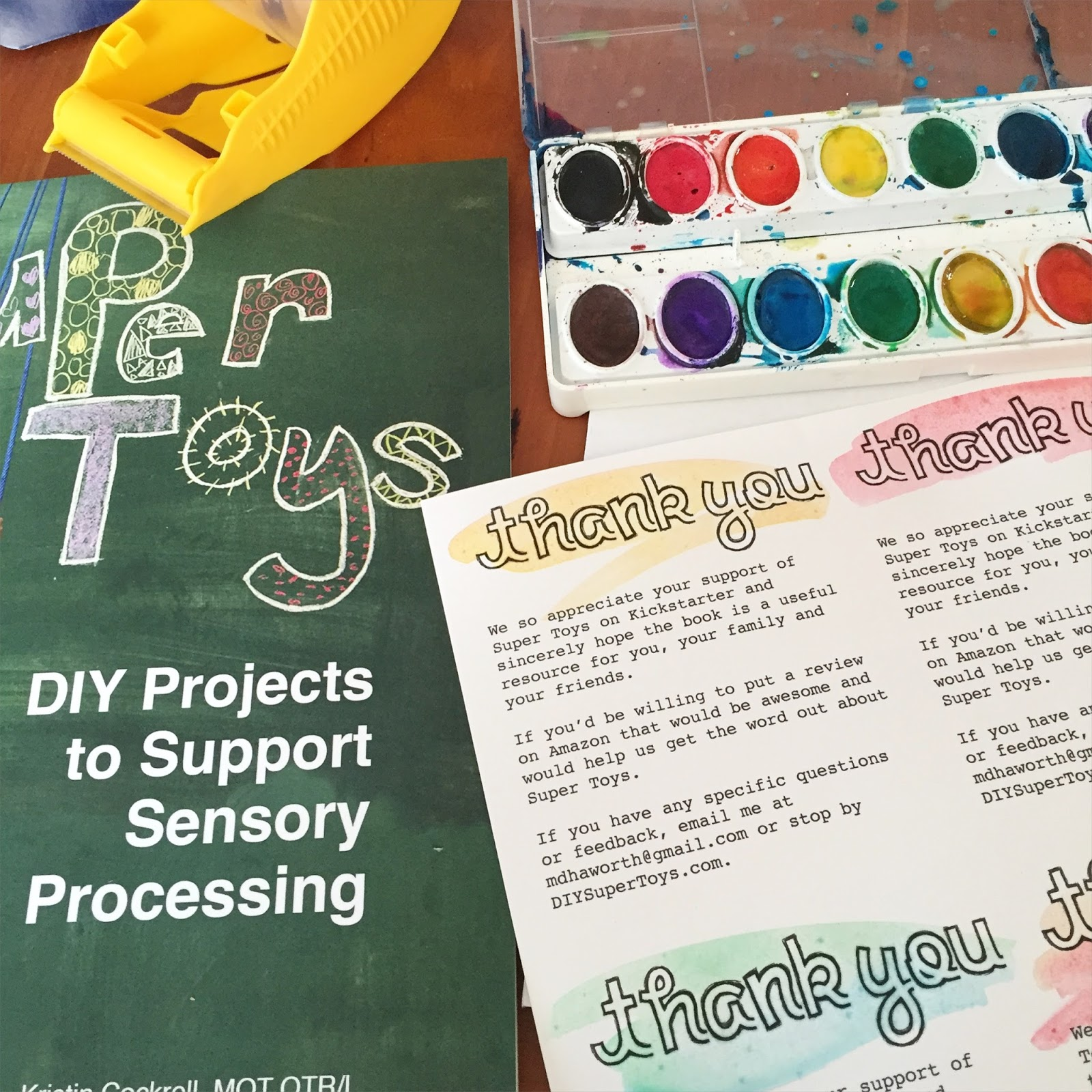 Super Toys DIY Projects to Support Sensory Processing