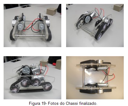 Fotos do chassis finalizado