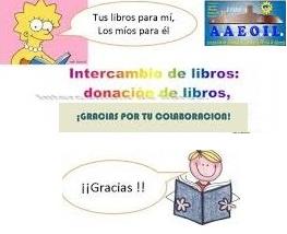 INTERCAMBIO DE LIBROS DE TEXTO EOILORCA