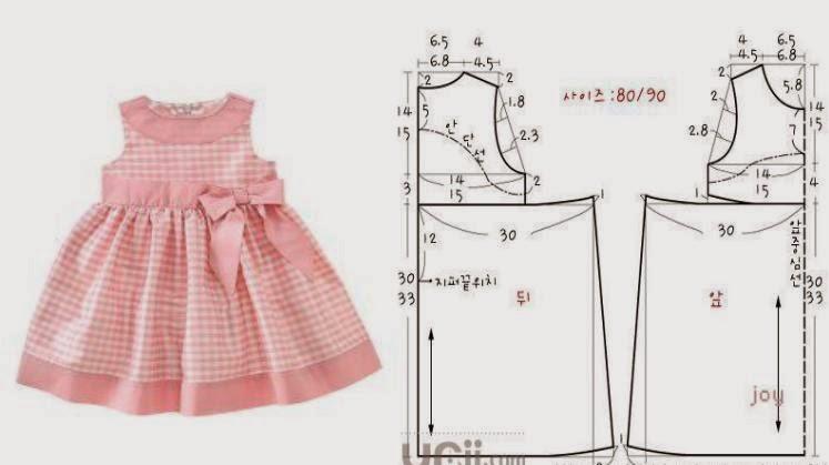Пошив детской одежды своими руками выкройки фото