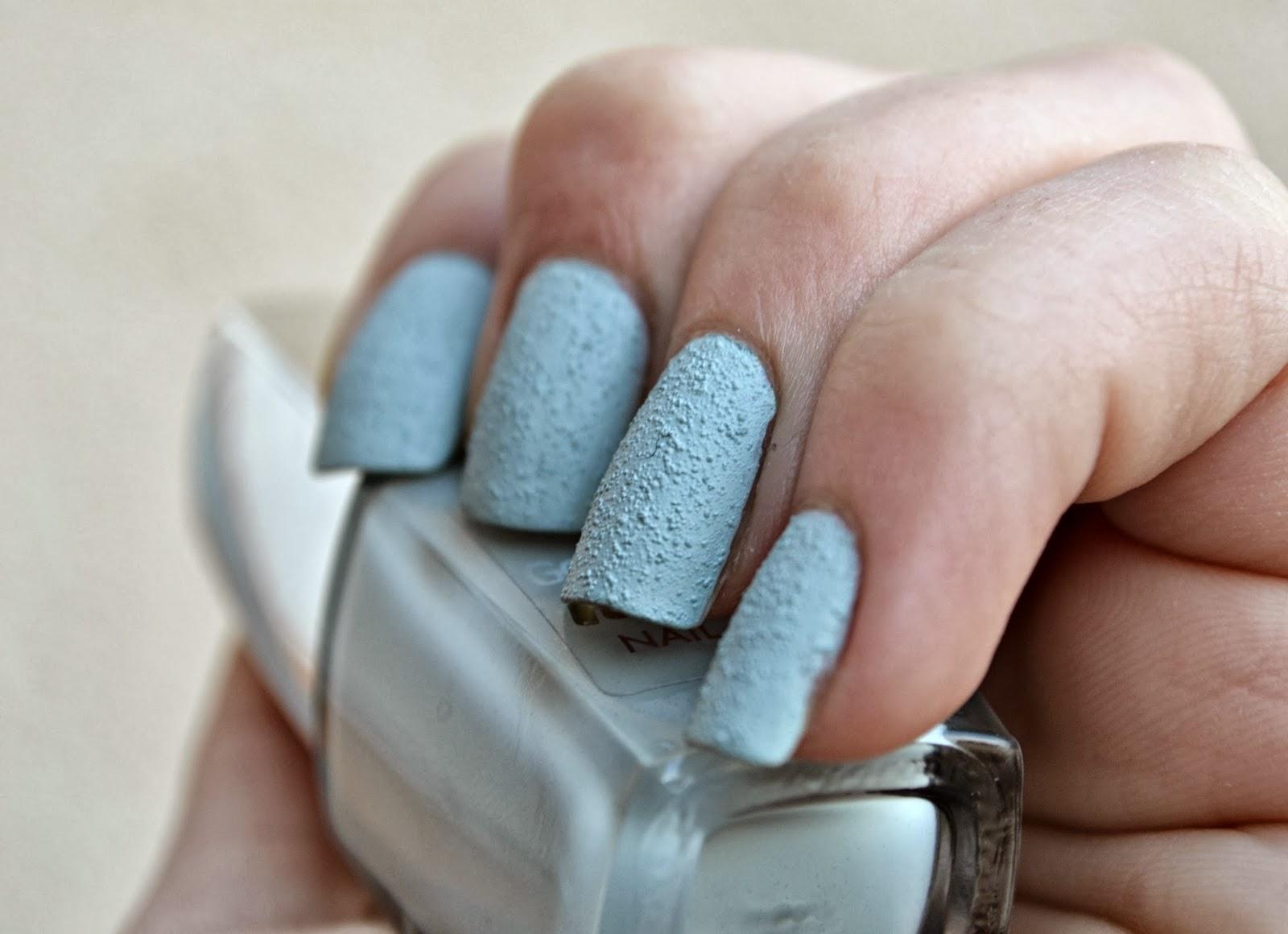 whispering blue nail polish
