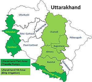 How to Reach UttarakhandUttarakhand Temple Map