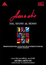L'evento. Dal segno al senso. Presentazione del catalogo delle opere pittoriche di Vittorio Amadio