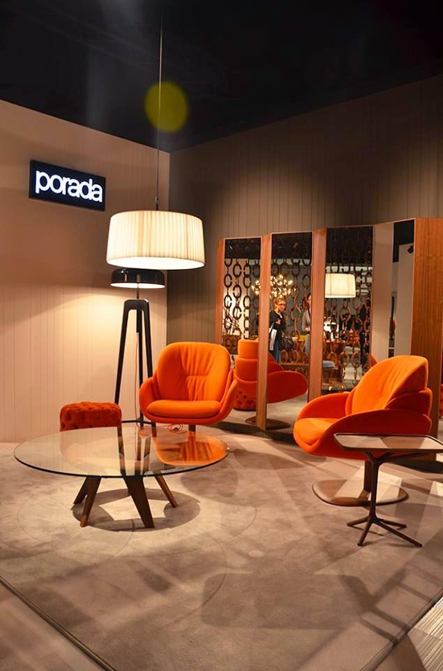 Porada auf der Kölner Möbelmesse imm cologne 2015 - Einrichten im Retro Design