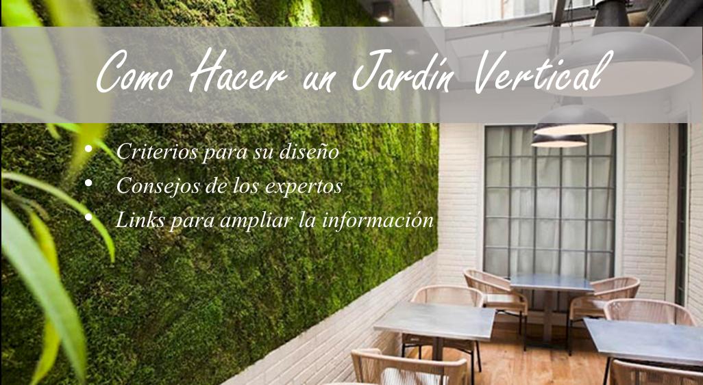 Como hacer un jardin vertical cmo hacer un jardn vertical - Jardines verticales paso a paso ...