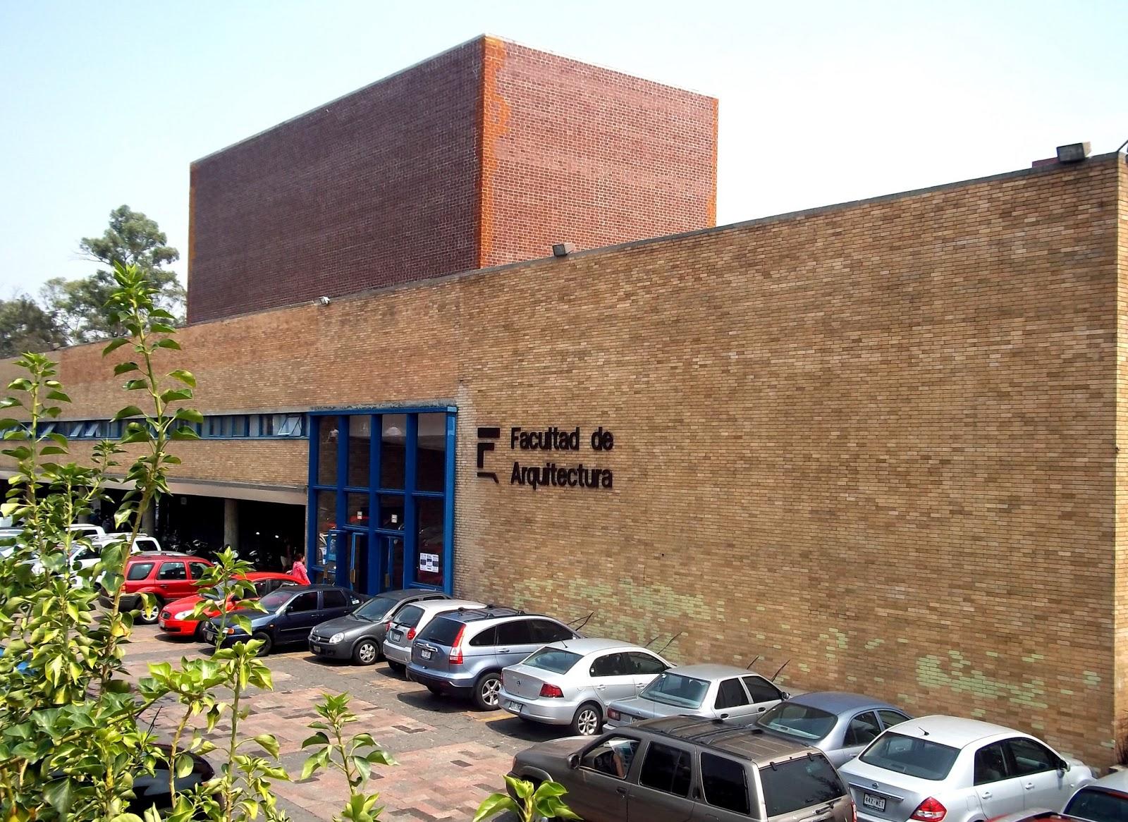 Arreguin esmeralda for Facultad de arquitectura una