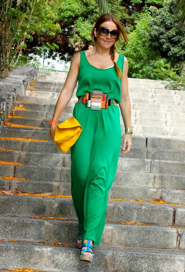 Luxury Alfa Img  Showing Gt Green Jumpsuit Women