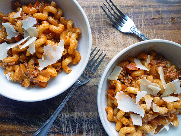 Lamb Ragu with Cavatappi Recipe