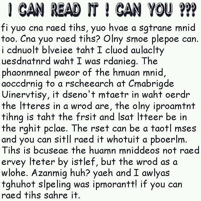 Intelligent Reading Riddles to Twist your brain