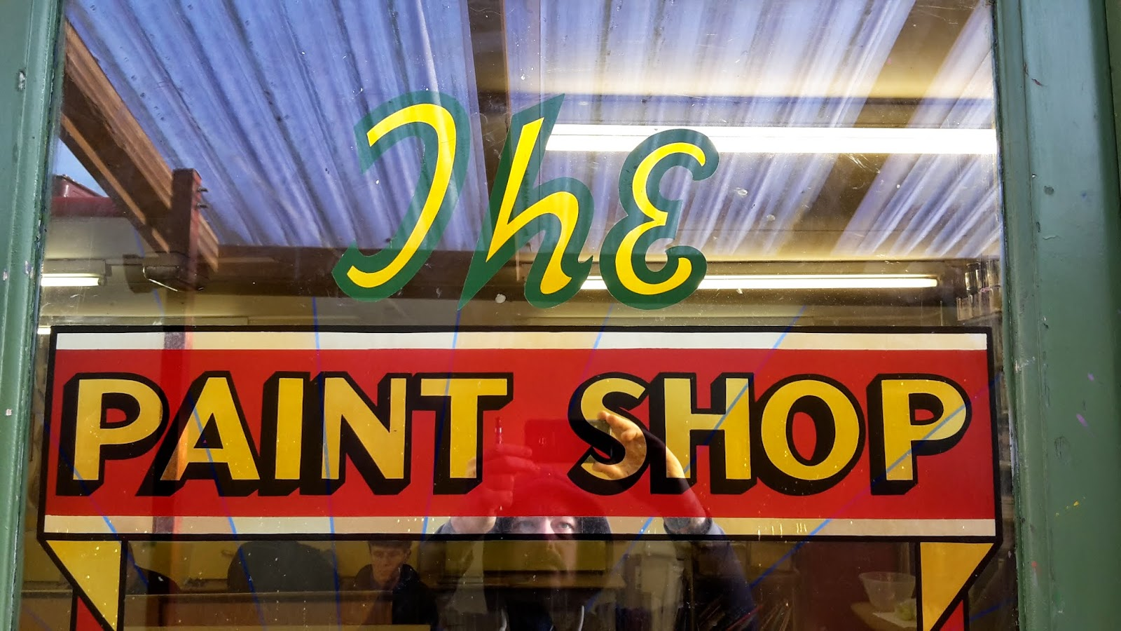 Dave wakely sign painting davewakelysignpainter jan malvernweather Image collections