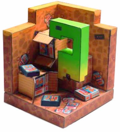 ET Video Game Papercraft