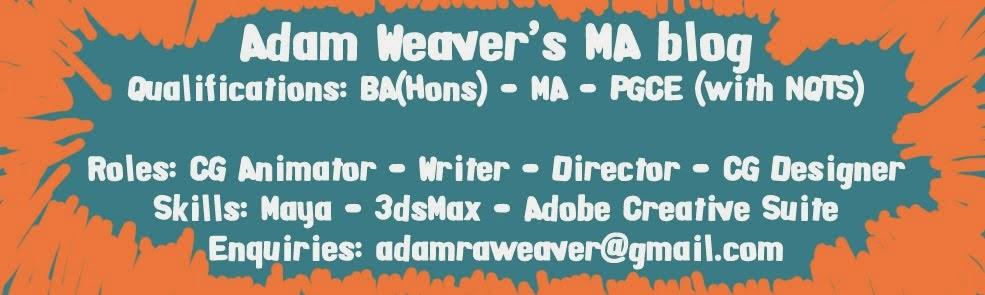 Adam Weaver Animation