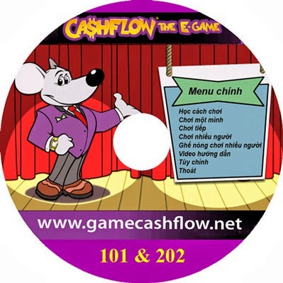 CD e-game cashflow 101 và 202