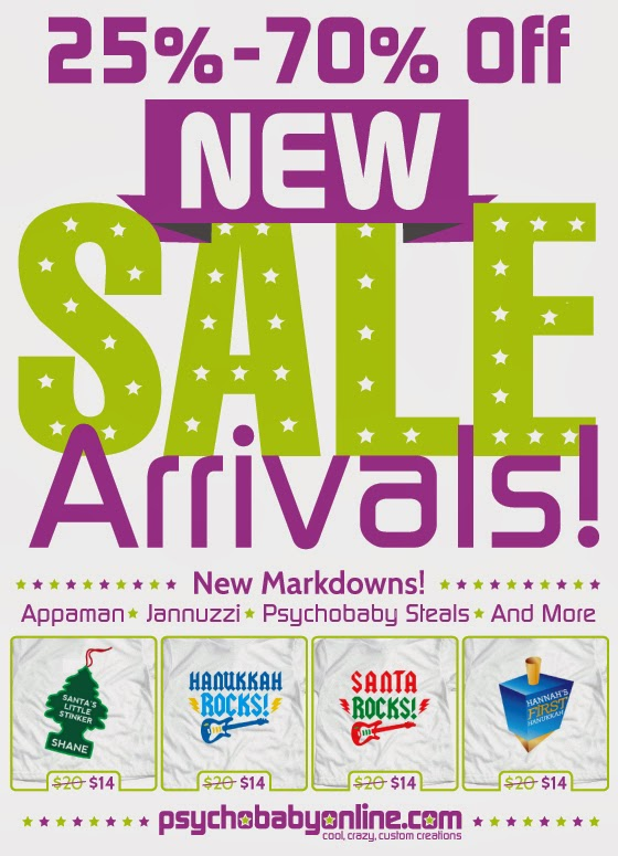 New Sale Markdowns - 25% - 70% Off