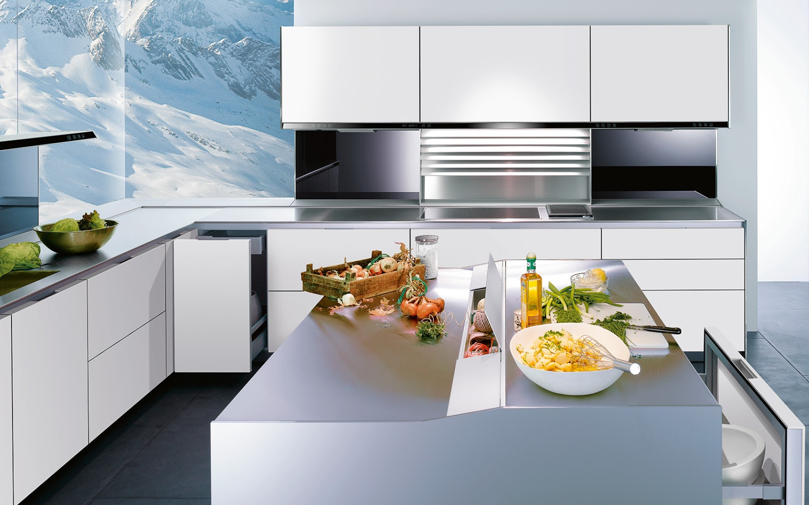 Siematic une cuisine design en finesse for Cuisines blanches design