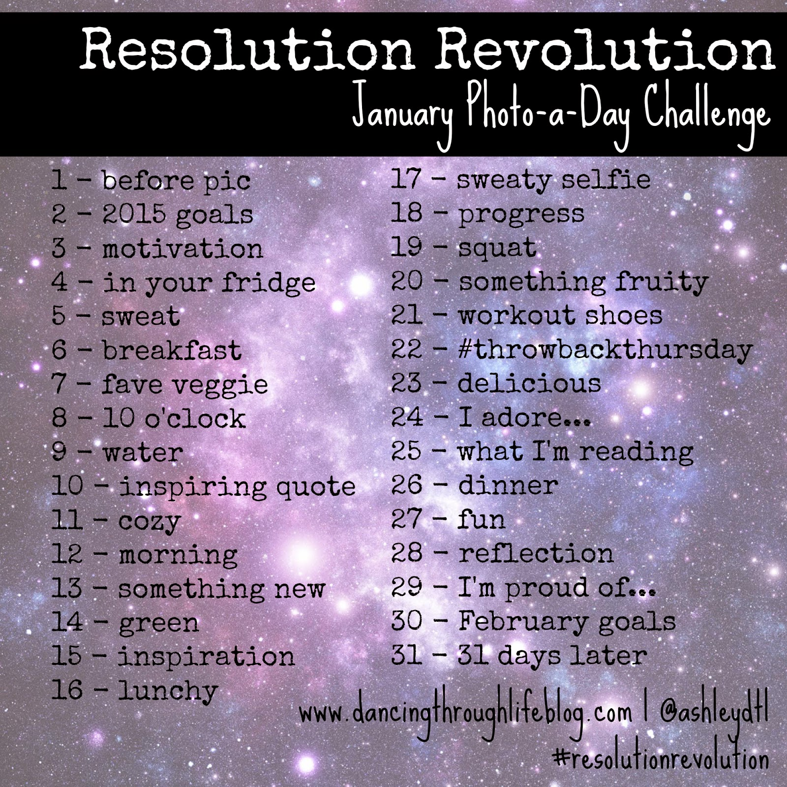 @ashleydtl Instagram Photo a Day Challenge