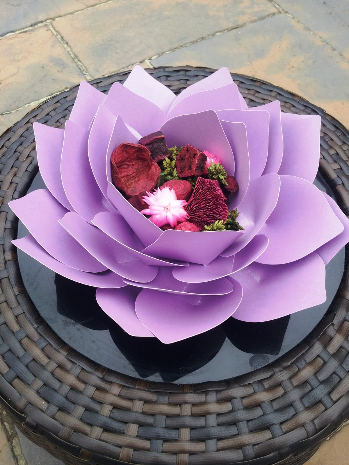 Creative lesley giant paper lotus flower giant paper lotus flower mightylinksfo Gallery