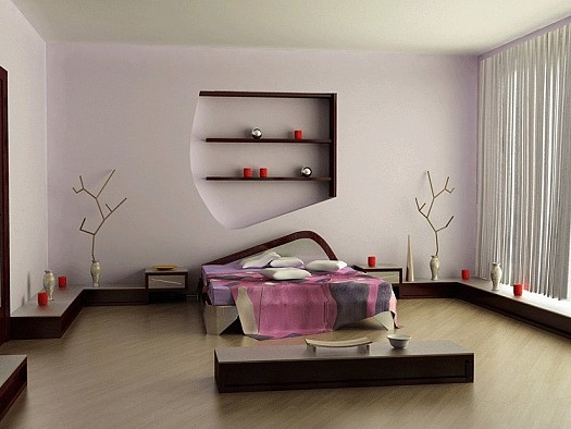 ديكورات غرف نوم مودرن للعرسان لـ  2012/2013