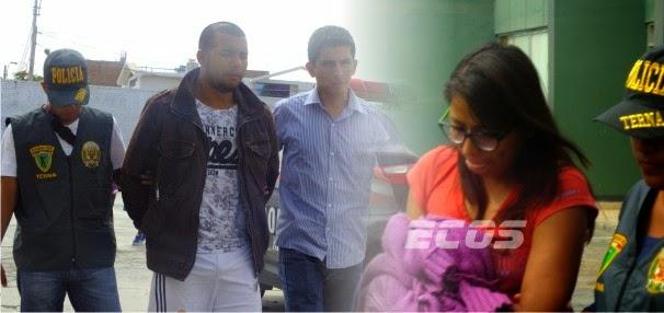 Huacho: presentan pareja de micro comercializadores de droga que operaban en Supe
