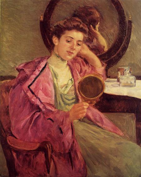 femeie-la-masa-de-toaleta-mary-cassat-1909