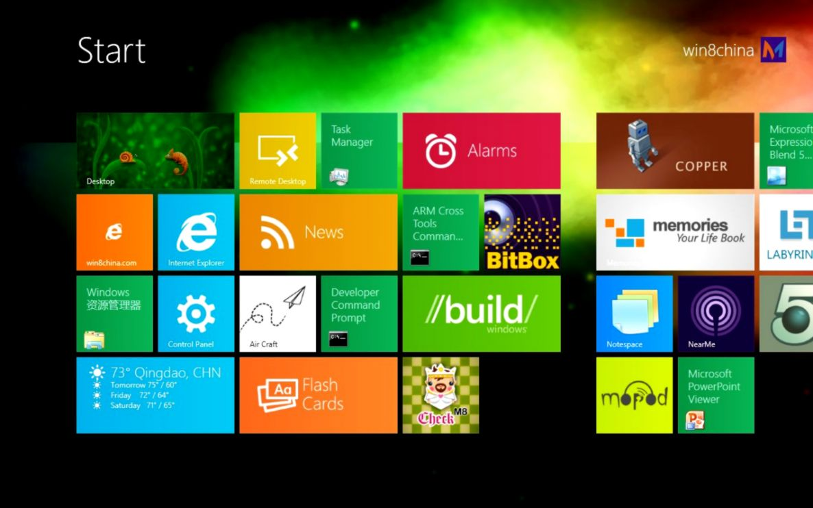 Tool to Easily Change Windows 8 Start Screen Color  Background Image