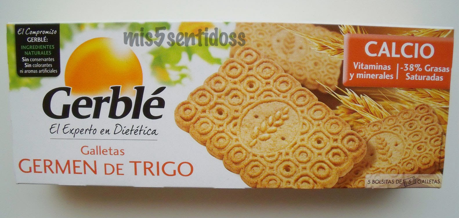 Gerblé galletas de germen de trigo
