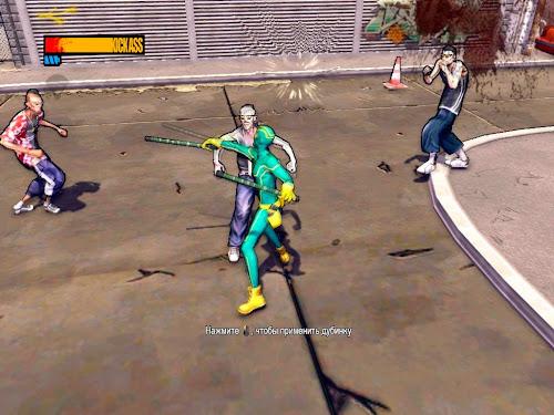 Screen Shot Of Kick Ass 2 (2013) Full PC Game Free Download At worldfree4u.com