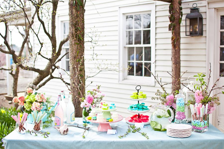 Spring Bridal Shower Shoot - Celebrations at Home