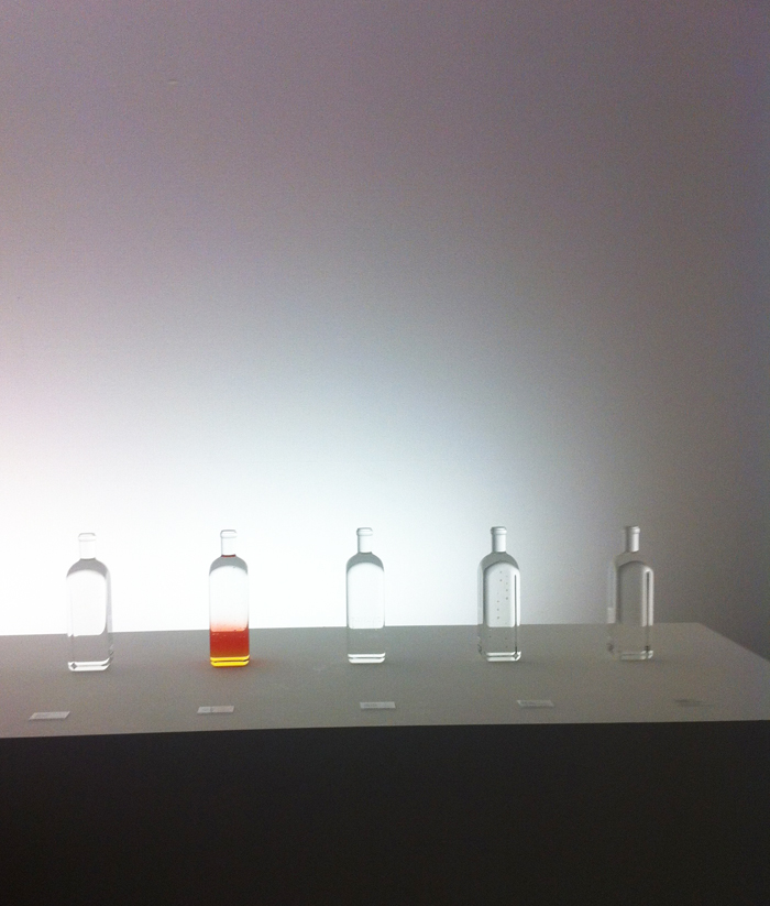 nendo rain bottle at maison&objet 2014