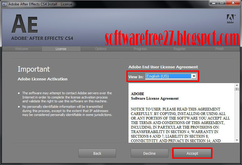 Free download adobe after effect cs 4 32bit full version reupload804