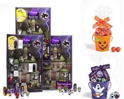 Halloween Gift Buckets, Halloween Chocolate Calenders