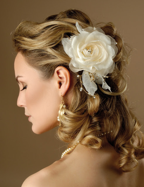 Hairstyles For Short Hair For Wedding Party : _Bridal+Hair+Designs+For+Wedding+Party+_++Bridal+Hair+Design+_++Short ...