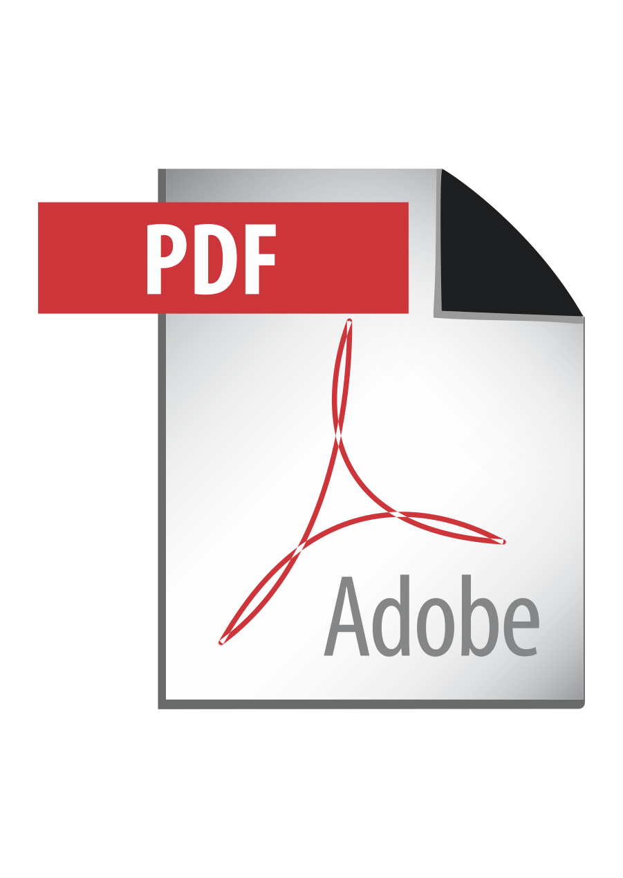 Adobe PDF Logo Vector download free