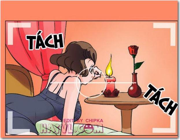 Truyện tranh 18+ Kim Chi & Củ Cải phần 874 - Săn Ảnh. Này thì săn ảnh !