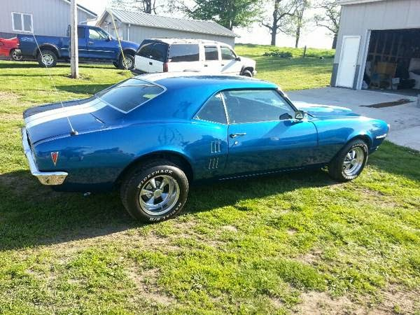 1968 Pontiac Firebird For Sale Buy American Muscle Car