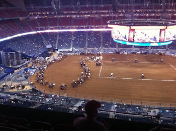 Houston Rodeo Grand Entry