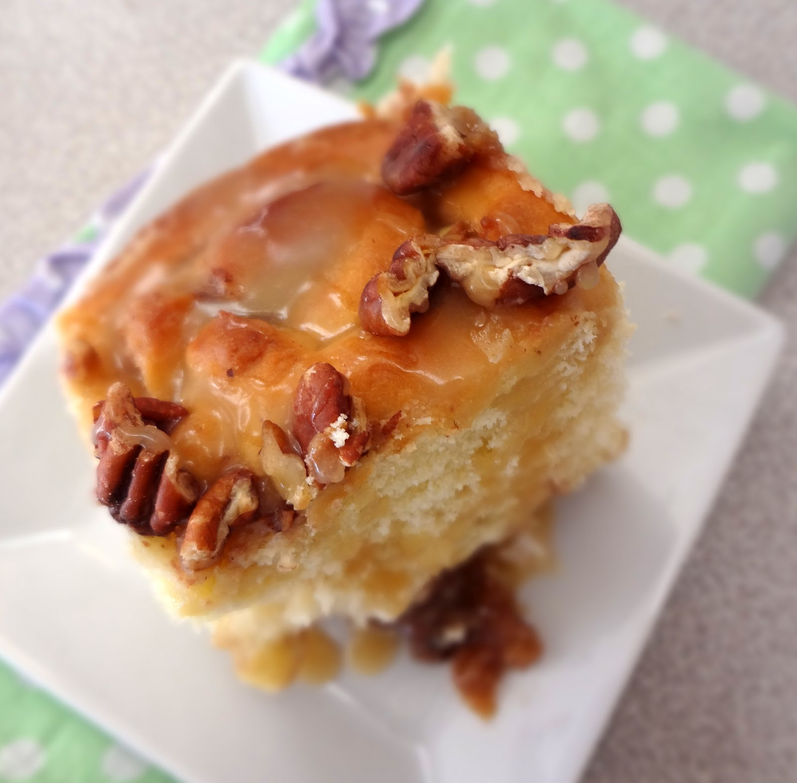 LESSON LEARNED: These sticky buns are pretty sweet. Cut them into ...