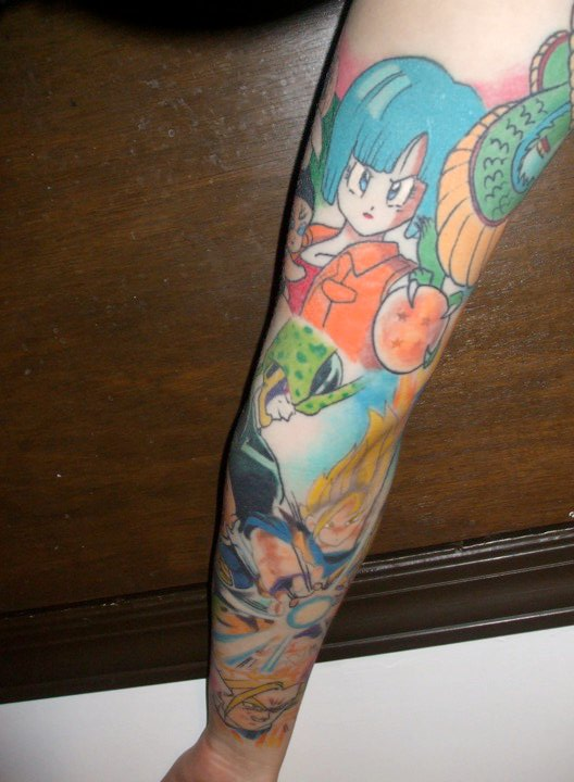Pesting yawa tattoo 1 1 dragonballz for Dragon balls tattoo