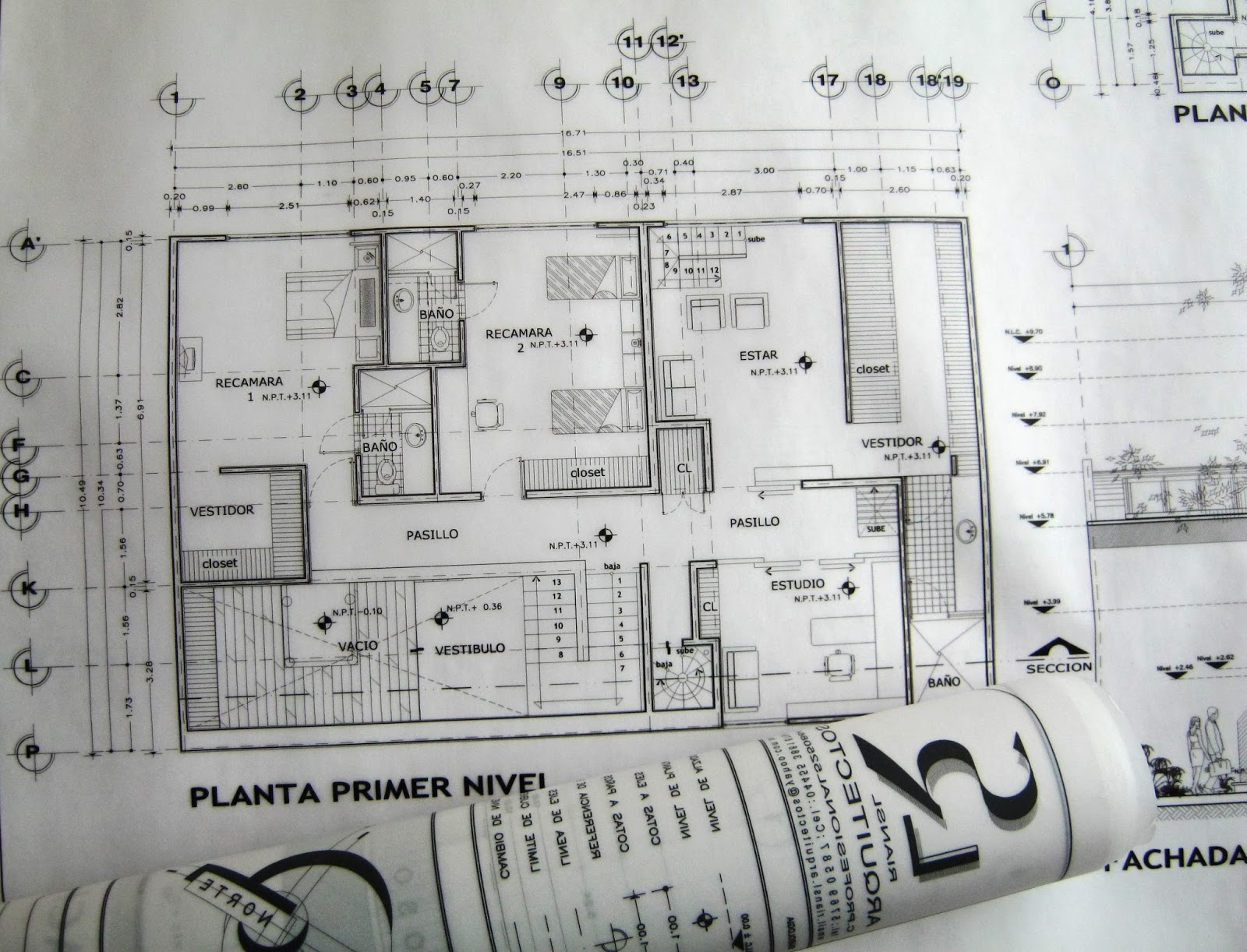 Precio de dibujo planos arquitect nicos de casa habitaci n for Dibujos de muebles para planos arquitectonicos