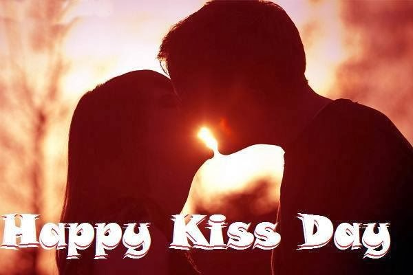 Happy kiss day images 2014