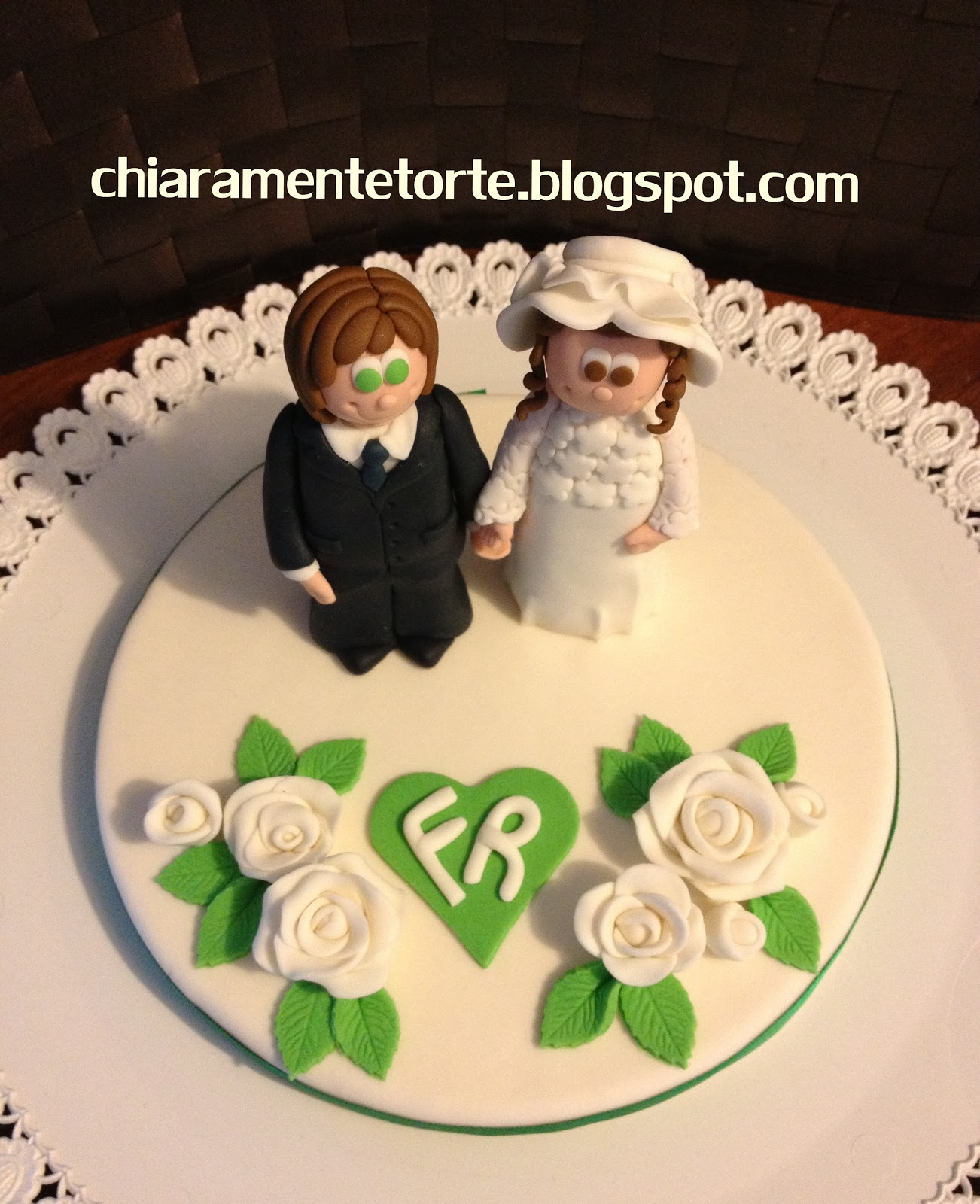 Chiaramente Torte 40 Anni Nozze Di Smeraldo Sposi Anni 70