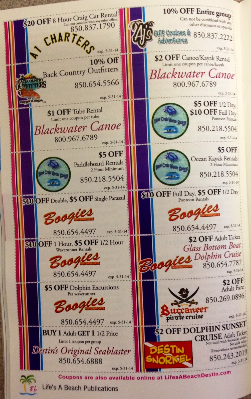 photo regarding Rosa Cafe Printable Coupons identified as Lifes A Beach front: Observe Out Our Extraordinary Coupon codes!