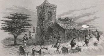 Aquelarre en la iglesia de North Berwick