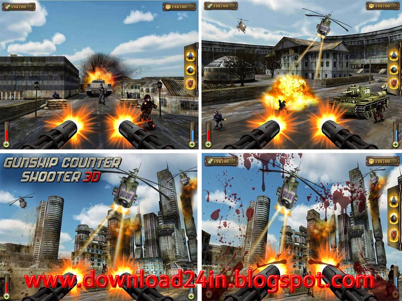 Gunship counter shooter 3d 1 1 3 apk android game free download