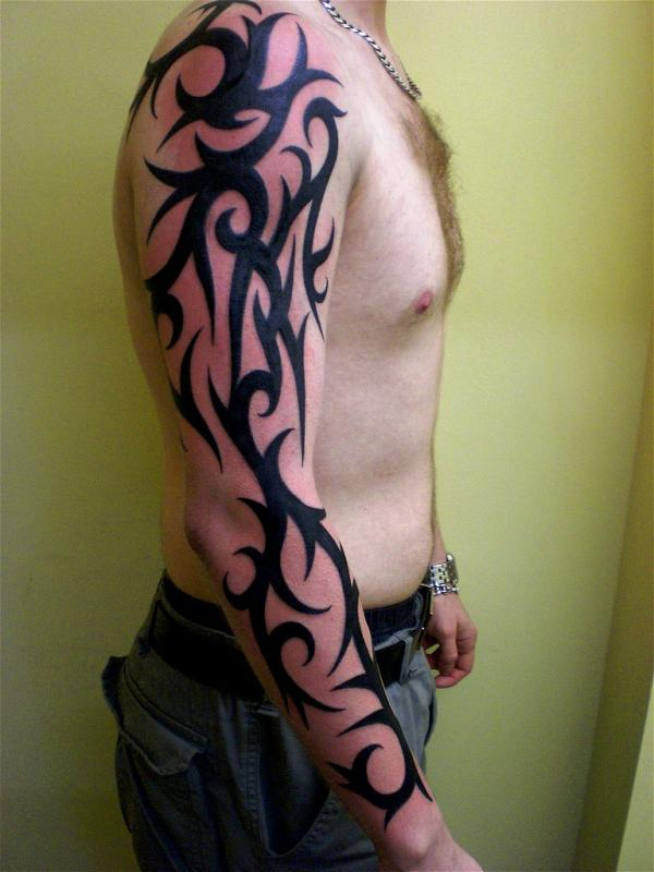 tribal tattoo designs for arms-28