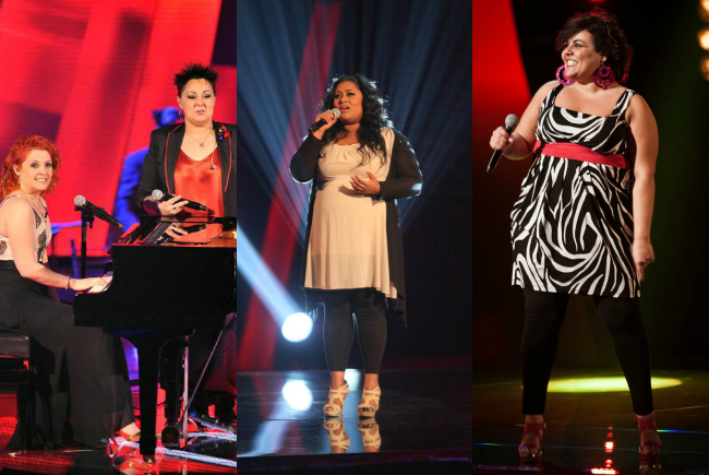 concorrenti curvy a the voice of italy 2013