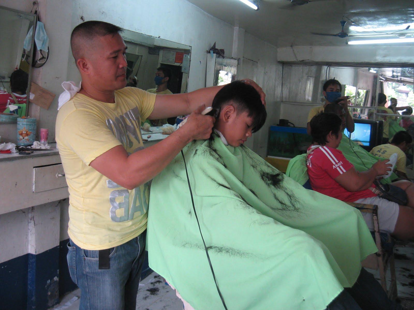 Barber Shop Hair Cuts