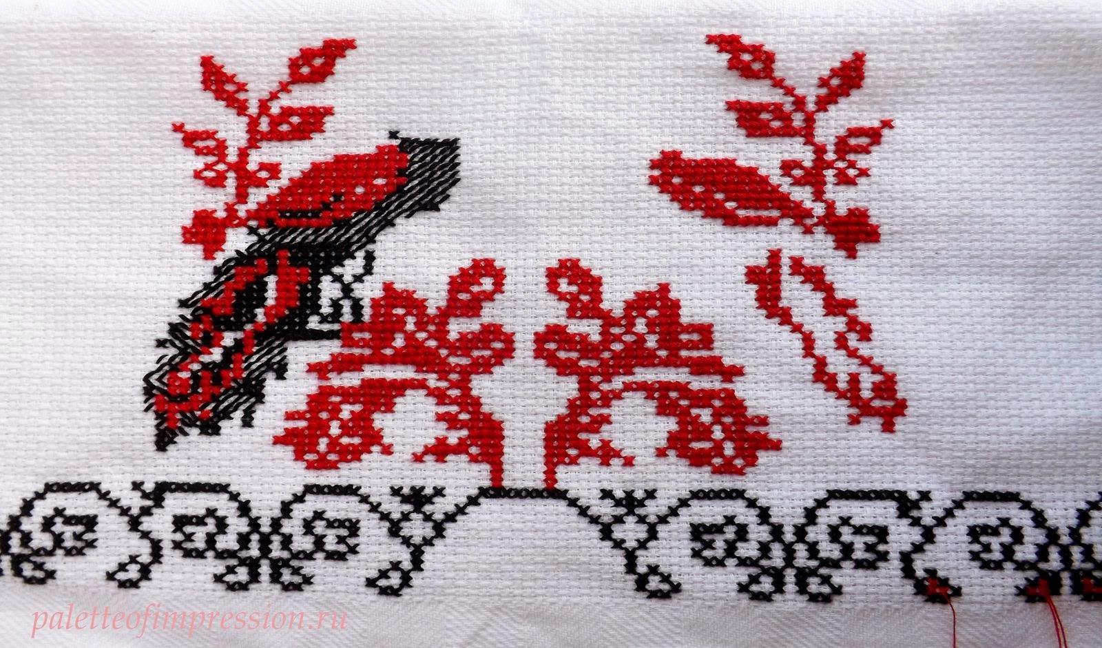 Вышивка крестиком рушники фото 53