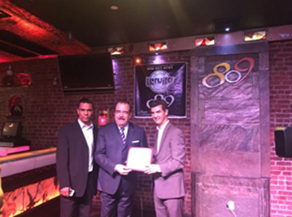 Presidente de NORCECA visita al concejal Rodríguez como parte de agenda en Nueva York