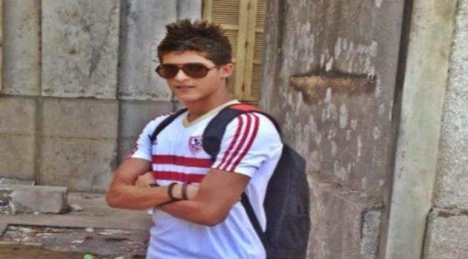 أحمد الشيخ مهاجم مصر المقاصة
